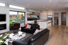 2015 Gold Award Winner Preston Downs Home Award Winner, Preston, Cladding, Awards, Living Room, Space, Kitchen, Table, House