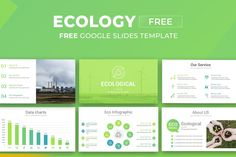 Free Ecology Google Slides Presentation Template Free Powerpoint Presentations, Powerpoint Template Free, Powerpoint Presentation Templates, Chart Infographic, Photo Report, Data Charts, Ecology, Keynote, Google