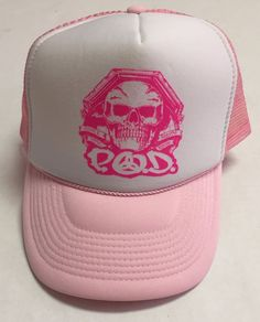 Pink White, Death, Skull, Nu Metal, Cap, Potpourri, Music, Ferrari, Fashion
