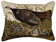 Wild Turkey Pillow