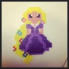 Image result for hama beads rapunzel