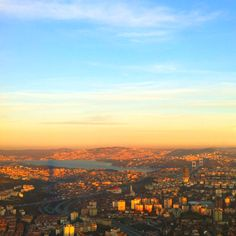 Istanbul. View from saphire tower