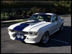 1968 Ford Mustang Fastback 347 CI, 5-Speed, Eleanor Package