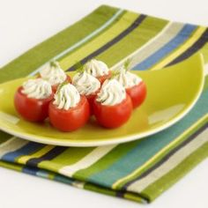 Cherry Tomato Poppers Recipe