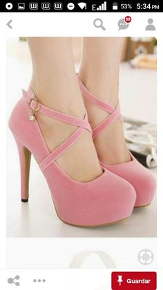Suede Round Toe High Heel Women's Pumps Source by prgirlperez Zapatos Cute High Heels, Pink High Heels, Platform High Heels, High Heel Pumps, Womens High Heels, Pumps Heels, Black Heels, Stiletto Heels, Kawaii Shoes