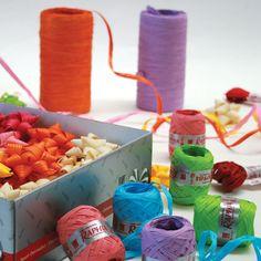 Raphia Synthetic  #raphia #gift #ribbon #wrapping #stars #stelle #nastri