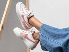 Air Force 1, Nike Air Force, Pink Quartz, Pink Accents, Light In The Dark, Sneakers Nike, Coral, Pairs, Heels