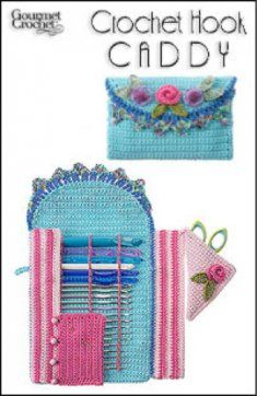 Crochet Hook Caddy Crochet Pattern Crochet Hook Caddy [GC48107] - $7.99 : Maggie Weldon, Free Crochet Patterns