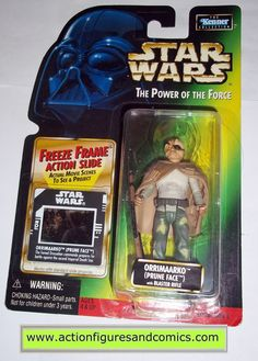 star wars action figures ORRIMAARKO PRUNE FACE 1998 power of the force hasbro toys moc mip mib