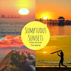 Check out this awesome roundup of sunset from across the world. Head to @thetravelblogs now!