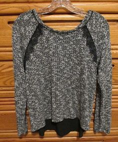 For sale in our Ebay store...click on the photo for full details  White House Black Market Medium Split Back Sweater Top Black Cami Lace Accents  #WhiteHouseBlackMarket #SplitBackTop #Casual #sweater #black #cami #lace #splitback #top #fashion