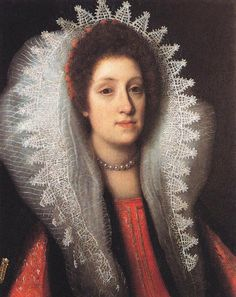 Justus Sustermans, 1597–1681, Flemish painter, Maria Magdalena of Austria, Grand Duchess of Tuscany, Oil on canvas