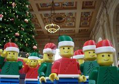 3D printed holiday Legos
