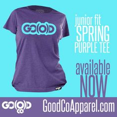 Junior fitted women's tee available now! Visit www.GoodCoApparel.com and get yours today! #iKeepGoodCo