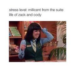 Stress level ...
