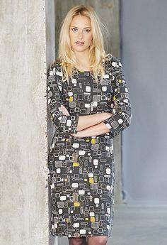 ef75d069a3d Adini Eley Print Eley Dress Mushroom Size L UK 16 rrp 57 DH172 EE 03