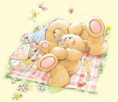 ❤️ Forever Friends | Summer Picnic ❤️ #foreverfriends #teddy #summer ♥ღ