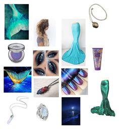 """""""Mermaid"""" by jessiestarman ❤ liked on Polyvore featuring art"""