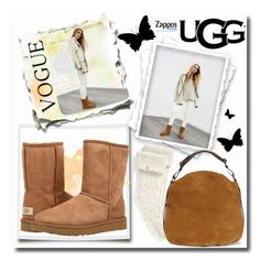 """""""The Icon Perfected: UGG Classic II Contest Entry"""" by teto000 ❤ liked on Polyvore featuring UGG, UGG Australia, ugg and contestentry"""