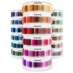 This is awesome! I'd love to welcome clients into the colour room! The PANTONE Plus Plastic Standard Chips Collection
