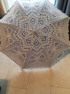 sonnenschirm gehäkelt, umbrella Blanket, Knitting And Crocheting, Blankets, Cover, Comforters