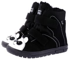 Winter Panda Waterproof Shoes
