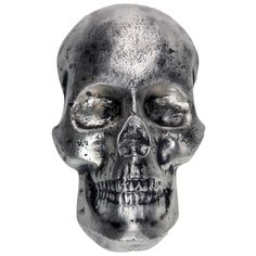 10 oz MK Barz Hand Poured Silver Skull from JM Bullion™ Silver Bars, Hands, Pure Products, Skeletons, Skulls, Gold, Stuff To Buy, Skull, Skeleton