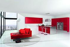 The 67 Best Kitchens In Colour Images On Pinterest Kitchens