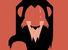 Disney Cast: Scar, lion king