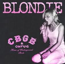 1975 poster for Blondie at CBGB #70s #music #icons