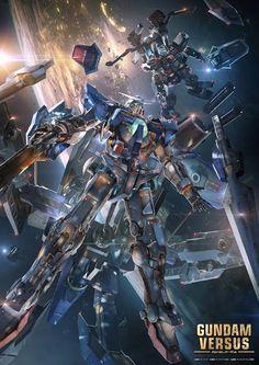 Gundam Versus: Exia Gundam & Full Amour Gundam (Thunderbolt Version)