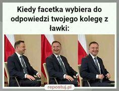 Very Funny Memes, True Memes, Wtf Funny, Polish Memes, Weekend Humor, Funny Mems, Happy Photos, Just Smile, Best Memes