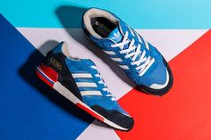 best service c727a ba34d Mens New Adidas Originals Style ZX750 trainers Blue White Adidas Originals,  Adidas Samba, Adidaksen