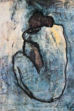 Pablo Picasso BlueNude 1902