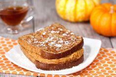 Pumpkin Spice Stuffed French Toast Recipe | Hungry Girl