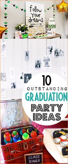Graduation Celebration Party Ideas. Memorable graduation party themes they will never forget. Awesome decor, food and deserts for any occasion.