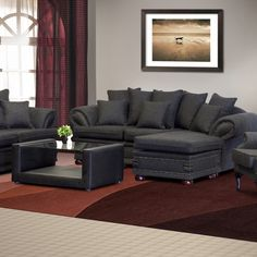 A classic 3 piece lounge suite with a hard-wearing design for extra durability. It is affordable and convenient with a reversible chaise corner piece. Lounge Suites, Traditional Looks, Wingback Chair, 3 Piece, Arms, Corner, Couch, Classic, Fabric
