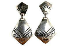 Leonard Gene Navajo Earrings