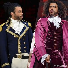 Daveed Diggs as Marquis de Lafayette and Thomas Jefferson