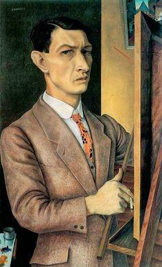 Rudolf Wacker (1893-1939) Vanaf het begin van de jaren dertig nam hij regelmatig openlijk stelling tegen de nationaal-socialisten en waarschuwde voor hernieuwd oorlogsgevaar. Die houding zou zijn carrière uiteindelijk steeds meer in de weg zitten. Hij ondervond  steeds meer weerstand. Om in zijn levensonderhoud te voorzien gaf hij tekenlessen op een basisschool en zag hij zich gedwongen tot het schilderen van bloemstillevens voor de verkoop.