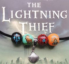 Camp Half-Blood Necklace: Percy's  Necklace With Charm. I need this