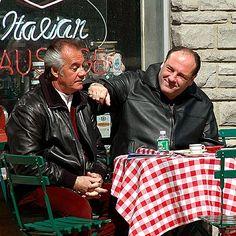 Paulie Walnuts and Tony Soprano #EasyNip
