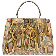 FENDI 'Peekaboo' tote and other apparel, accessories and trends. Browse and shop 21 related looks.