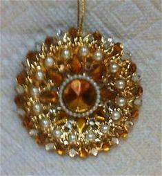 "June Zimonick Ornament SP565 ""Golden Filagree"" | eBay"