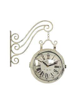 A Loja do Gato Preto | Relógio Metal Lateral Branco #alojadogatopreto