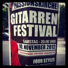 Guitar festival Berlin 10.2012