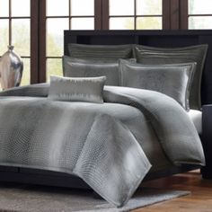 Madison Park Metropolitan Home Shagreen 3-pc. Duvet Cover Set and Accessories  found at @JCPenney