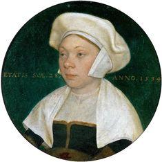 Susanna Hornebolt - Hans Holbein d.J. - Die Frau eines Hofbediensteten König Heinrichs VIII