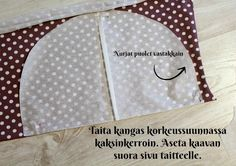 DIY Turbaanipipo rusetilla - Punatukka ja kaksi karhua Baby Turban, Turban Hat, Turban Tutorial, Diy Baby Headbands, Kids Hats, Girl With Hat, Baby Dress, Mittens, Hand Embroidery