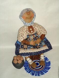 Купить Примитивная кукла - кукла Примитив, текстильная кукла, деревенский стиль, деревня, чугун, картошка